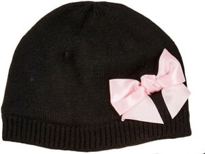 Image is loading KATE-SPADE-NEW-YORK-BLACK-amp-PINK-BOW- d6ae405663a