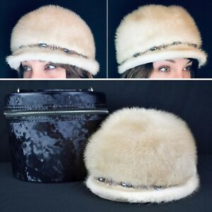 be6808a7d Details about GORGEOUS Vintage Emilio Gucci Real Fur Hat Ushanka Cossack  Ladies With Case