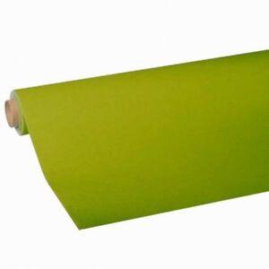 "Nappe Vert Olive, Tissue, ""royal Collektion"", Papier Nappe 5 Km Rôle-ke 5 Meter Rolle Fr-fr Afficher Le Titre D'origine"