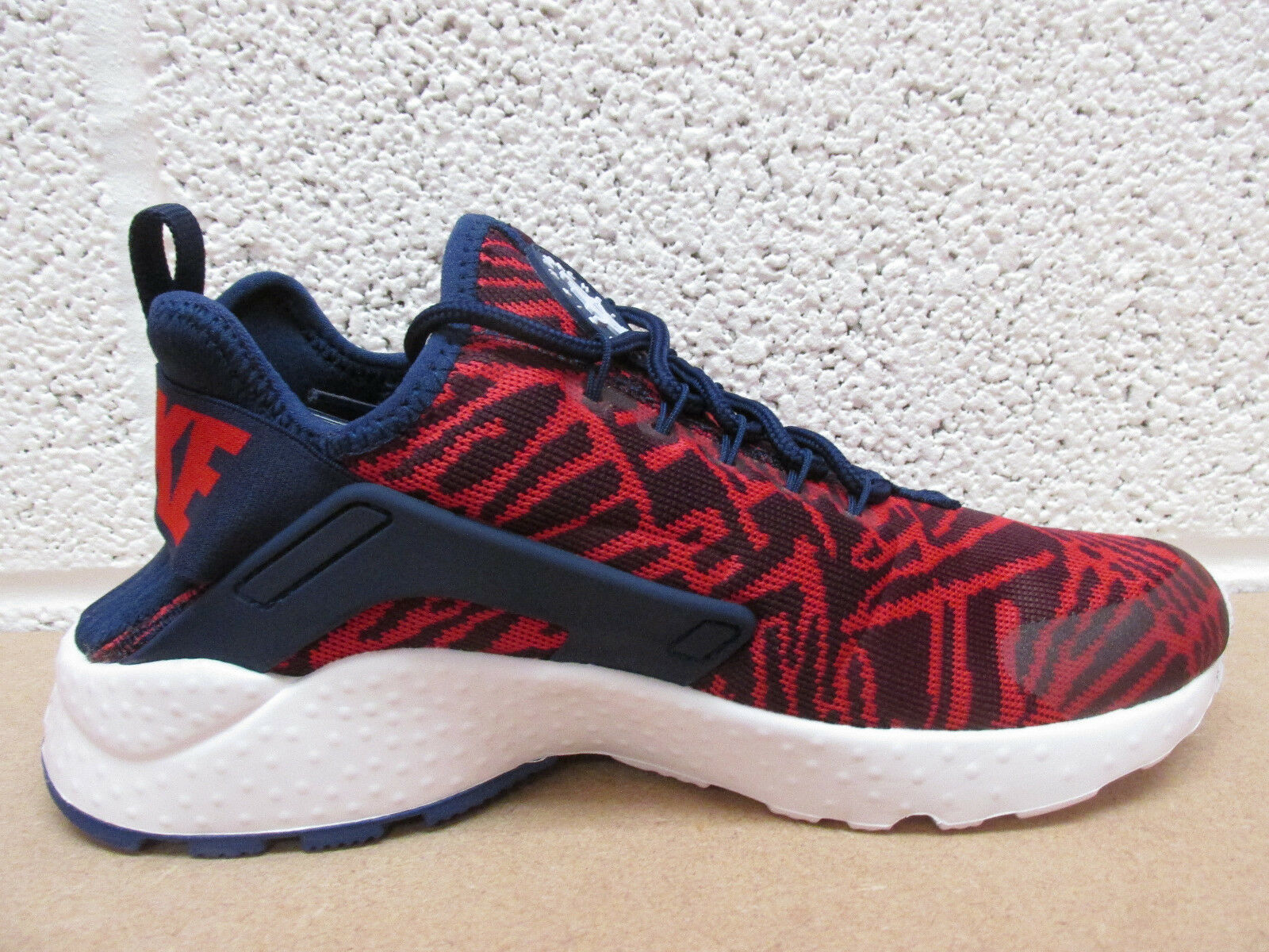 7012febd082e0 Nike Womens WMNS Air Huarache Run Ultra KJCRD Loyal Blue university Red 8  US for sale online