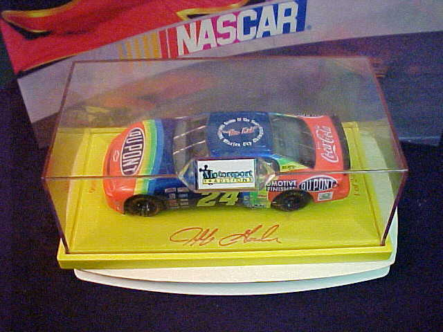 RARE JEFF GORDON 1993' ROOKIE OF THE YEAR- 1995' CHAMPION  THE KID  1 24 CAR