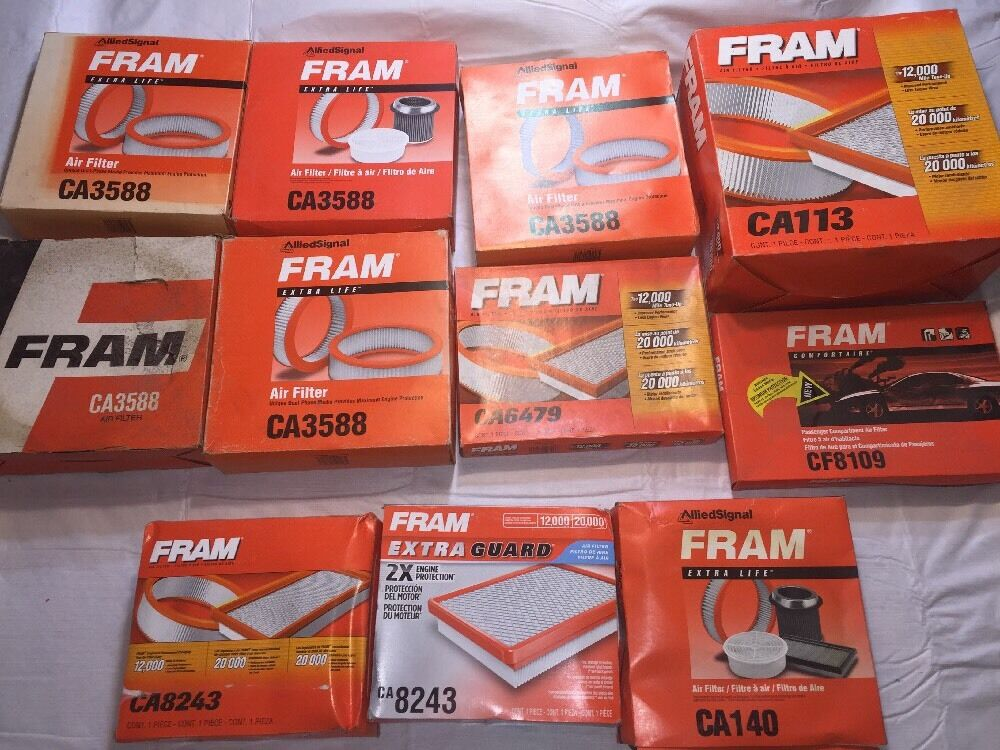 FRAM CA2611 Heavy Duty Round Plastisol Air Filter