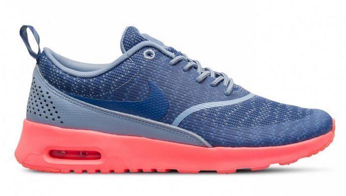 Nike Gr.44 Air Max Thea Jacquard Gr.44 Nike cool Blau/legend/hot lava 718646 400 390766