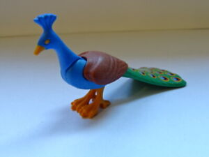 LE-PAON-PLAYMOBIL-ANIMAUX-ANIMAL-SAUVAGES-SAVANE-FORET-OISEAUX