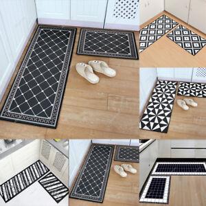 Kitchen Area Non Slip Rug Bedroom Floor Mats Hallway Door Entrance