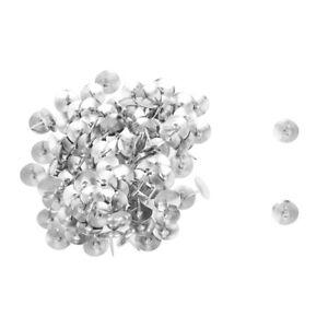 100Pcs-de-Tachuelas-Tono-plata-Tablero-corcho-Foto-Push-Pins-chinchetas-H9N9