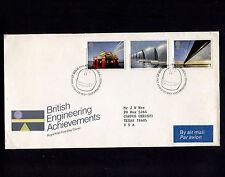 1983 Britain Edinburgh British Engineering Achievements Fdc