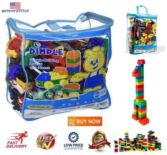 BIG BLOCKS 20 PC Bag Building Educational Toy Set Kid Children Toddler Baby 3+