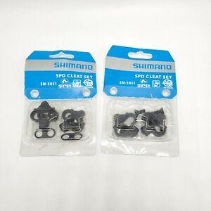 Genuine Shimano SM-SH51 SPD Cleat Set fits PD-M536 M520 M515 M505 M424 Pedals