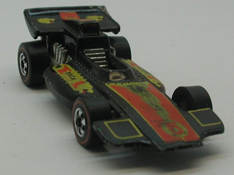 rojoline Hotwheels Negro 1976 Formula P.A.C.K.oc16975