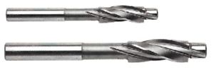 2pc 3-FLUTE SOLID PILOT COUNTERBORE #8 and #10 NEW