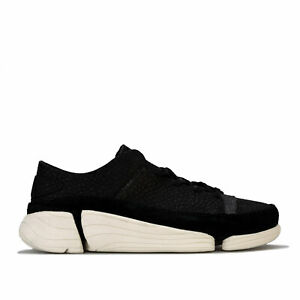 Chaussures-femme-CLARKS-ORIGINALS-trigenic-Evo-Baskets-En-Noir