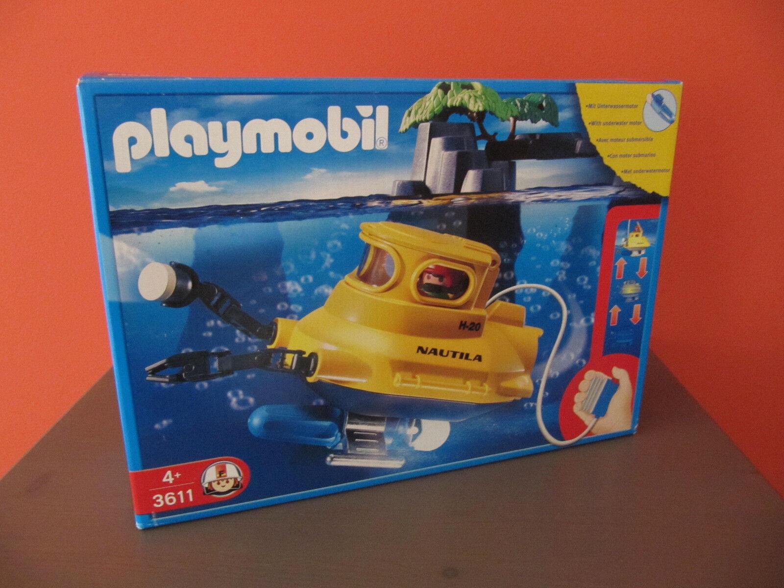 Neu  Playmobil 3611 U-Stiefel   NAUTILA   aus 1980 in ungeöffneter OVP MISB MIB