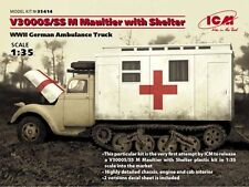 ICM 1/35 Ford V3000S/SS M Maultier with Shelter # 35414
