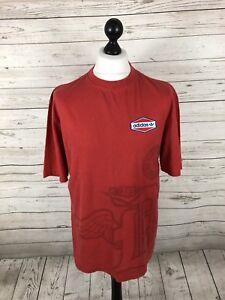 Adidas-Originals-T-Shirt-Size-Medium-Rot-Super-Zustand-Herren