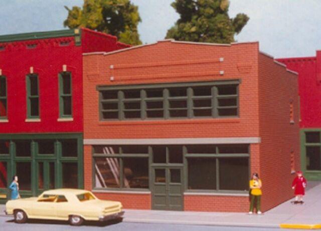 PIKESTUFF 6017 HO Drug Store Model Railroad Train Building Kit FREE SHIP