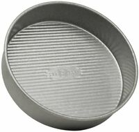 Usa Pan Bakeware Aluminized Steel 9 X 2 Inch Round Layer Cake Pan, New, Free Shi on sale