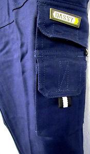 Übergr Herren Arbeit -,Sicherheits-<wbr/>,Schutz Hose blau grau schwarz 58,60,62,64,66