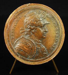 Intelligent Médaille Henri V Roi D'angleterre Et Hib D'ap Jean Dassier Xviiie England Medal