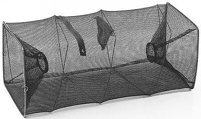nassa inganno per pesca mare spiaggia gamberi sacca esca sarda 23x55 cm nuove