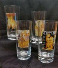 Larry Flynt Hustler Glasses Set of 4