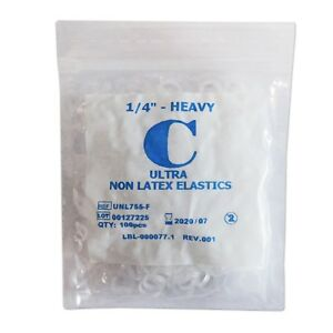 Ultra non latex elastics