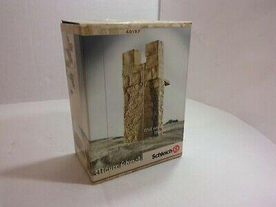 Wall Narrow Retired Rare Schleich 40197 World Of Knights Castle Original Box