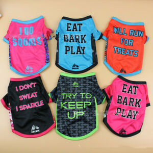 Pet-Puppy-Dog-Cat-Cute-Summer-Cool-Clothes-Vest-T-Shirt-Print-Pattern-Costume