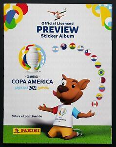 Panini Copa America 2021 Preview Softcover Album Kolumbien