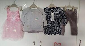 Girls 9-12 months winter bundle Next, Zara & F&F