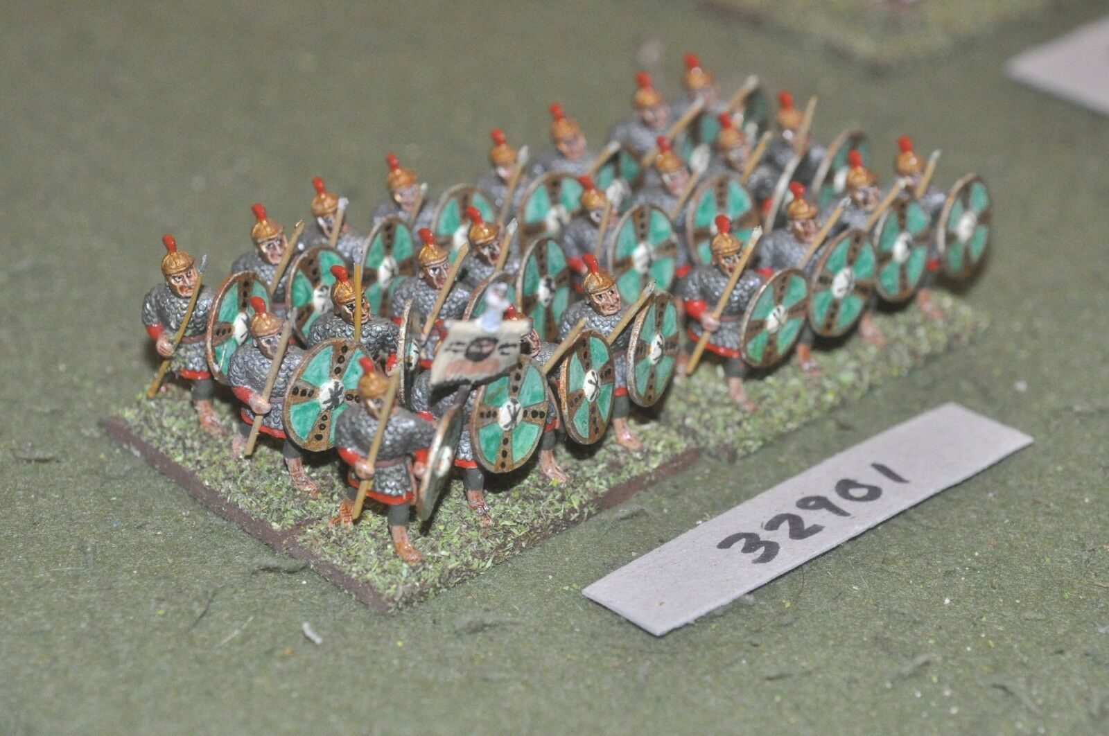 25mm roman era   roman - legionaries 24 figures - inf (32901)
