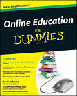 Online Education For Dummies by Susan Manning, Kevin E. Johnson (Paperback, 2009)