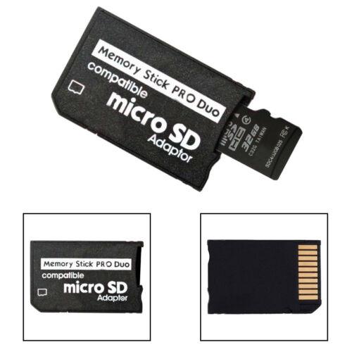 Cg /_ Memory Stick Pro Duo Adaptador Micro Sd SHDC TF Lector De Tarjetas Para Sony /& Psp Gra