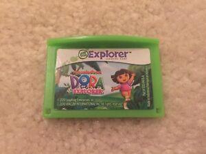 LeapFrog-LeapPad-Leapster-Explorer-Dora-The-Explorer-Game-Cartridge