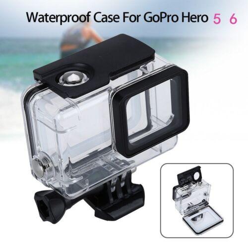 Para Accesorios de cámara Gopro Hero 5 Negro Nuevo 45m Funda Cubierta Impermeable De Buceo