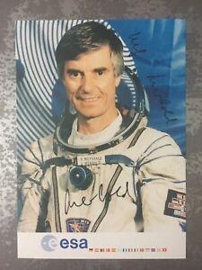 Ulf Merbold Autogramm Astronaut Kosmonaut ESA Weltraum Signiert !