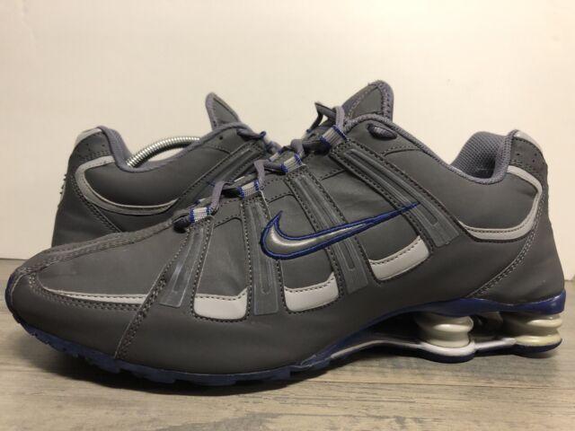 gran descuento para 60% barato tiendas populares Nike Shox Turbo SL Leather Men's Size 12 Dark Grey/deep Royal 525248 014  for sale online | eBay