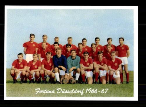 Fortuna Düsseldorf  Mannschaftskarte 1966-67