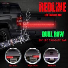 """60"""" Flexible Truck LED Tailgate Light Bar Signal Brake Back Up Reverse Light"""