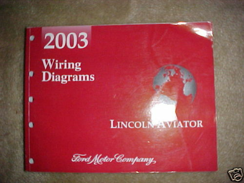 2003 Ford Lincoln Aviator Wiring Diagrams