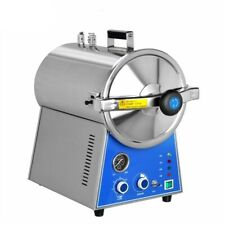 24l Stainless Steel High Pressure Steam Medical Autoclave Sterilizer Table Top
