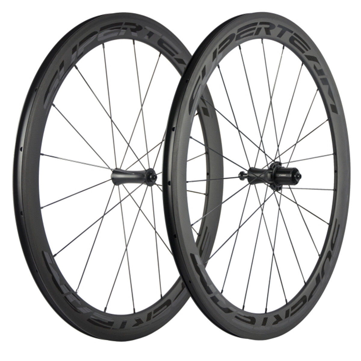 Superteam Carbon Wheelset R7 Hub 50mm Clincher Road Bike Wheels Matte Finsh New