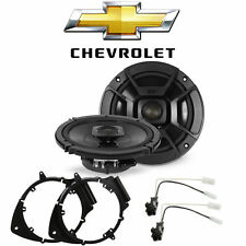 Chevy Silverado Pickup 2007-2013 Front Speaker Upgrade Polk Audio DB652 Package