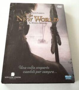 The-New-World-Il-Nuovo-Mondo-Ed-Speciale-Digipack-2-Dvd-Slipcase-Perfetto
