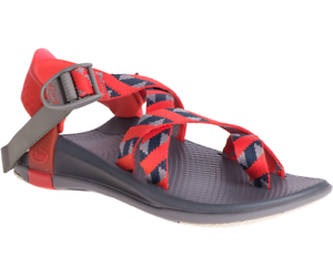CW48 New Chaco Z//Canyon 2 Sandal Running Beach Street Water Women 7 Red /& Grey