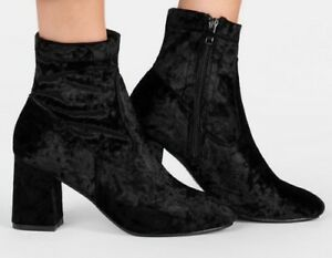 No Doubt Womens Crushed Velvet Ankle