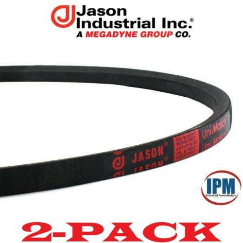 """A40 V-Belt JASON A40 4L420 UniMatch Multi-Plus V-Belt 1//2/"""" Wide 42/"""" Long 2-PACK"""