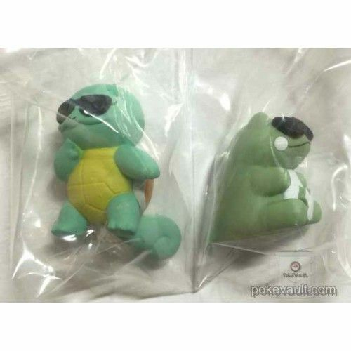 Squirtle Squad Pokemon Center Action Figure Whimsicott Substitute Toy Gashapon