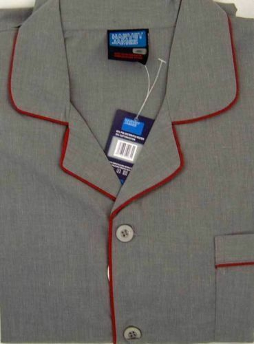 Homme Pyjamas Spring & S Summer Plain Poly/Coton Pyjama Pyjamas -/Tailles S & - 3XL. 65b78d