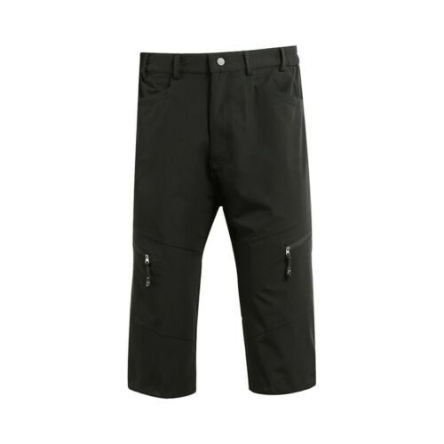 Mens 3//4 Cycling Pants Mountain Bike Pants Breathable Water Resistant